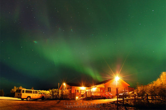 Healy, AK: Black Dimond on a Beautiful Chilly Night