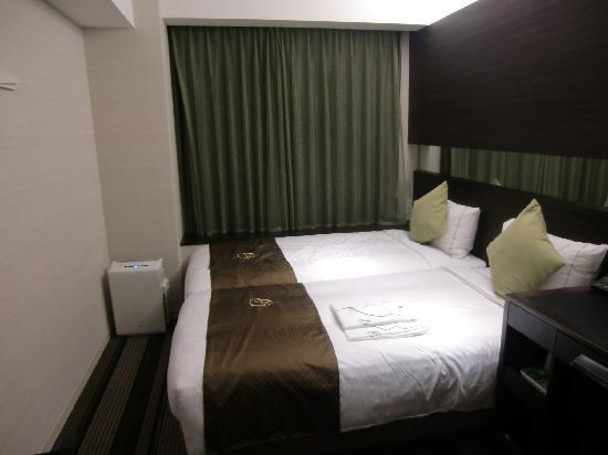 Hotel Brighton City Osaka Kitahama: ツインルーム