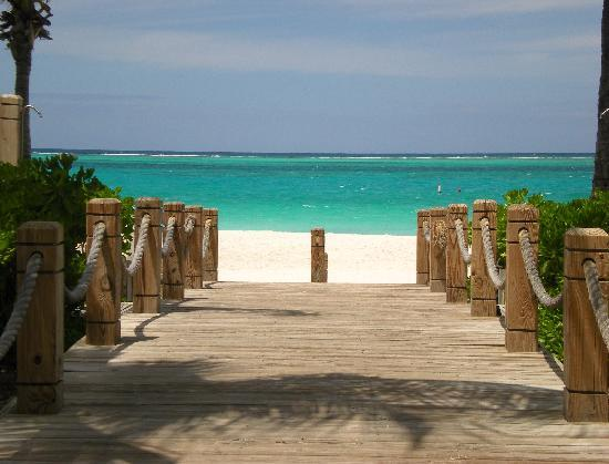 Ocean Club West: TCI water