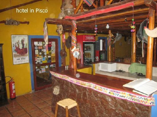Hostal Posada Hispana: front area