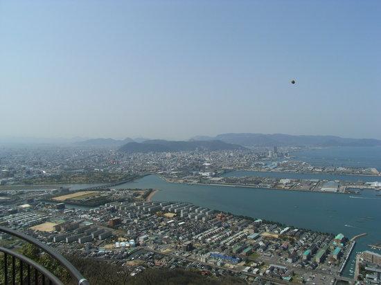 Takamatsu, Japan: アレを投げる
