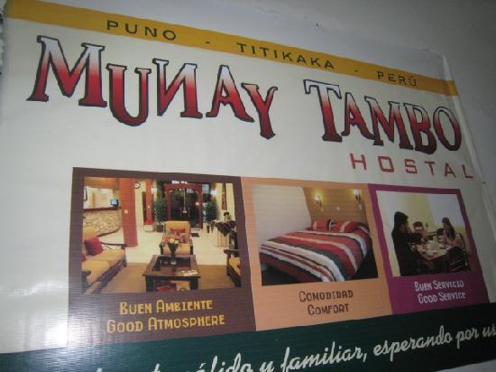 Munay Tambo Hotel: a good spot in puno