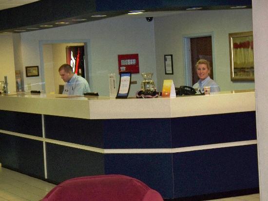 Comfort Inn Aikens Center: A warm welcome from Shannon