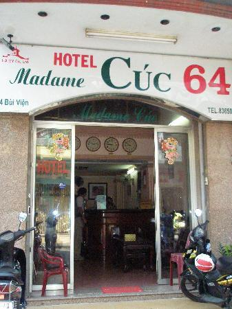 Madam Cuc 64: Front of the hotel