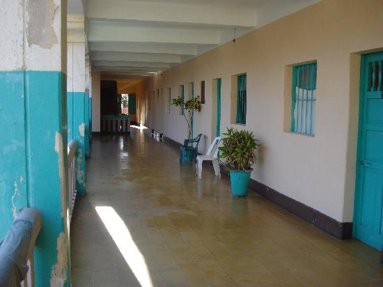 Hotel Lerma: Hallway at Lerma