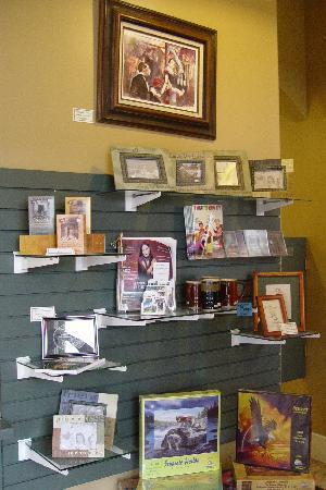 Simply De Vine Coffee: some of the Giftware Shelves