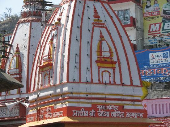 Haridwar, Inde : Ganga Temple @Brahm-Kund,Har-ki-Pauri
