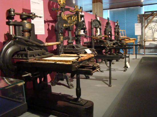 Gutenberg Museum – inside
