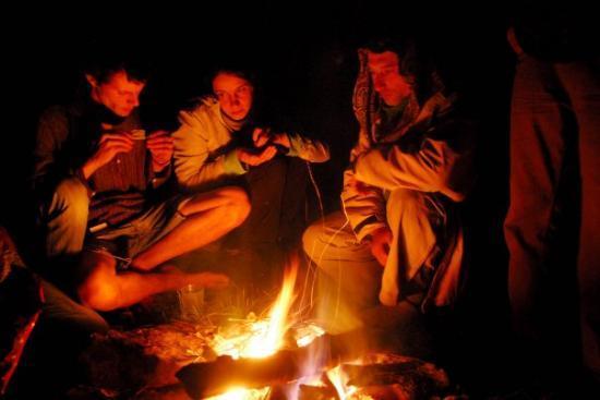 Svoge, Bulgaria: Les nuits glaciales dans la montagne près de Lakatnik