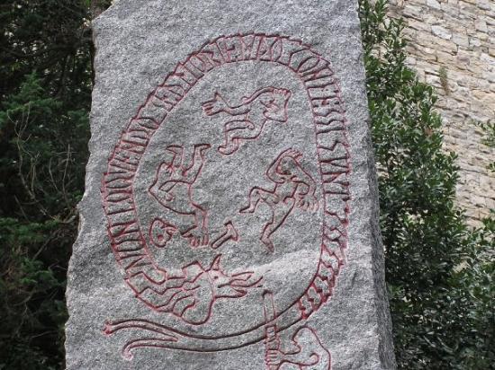 Bergamo, Italia: Sofia! Saknar ni någon runsten på Gotlandsmuseum så kontakta mig eller Eva - vi vet var det finn