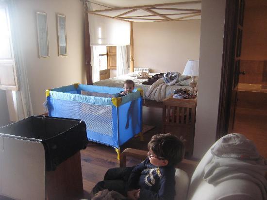 Hotel rural Candela y Plata: Habitación donde estuvimos.. grande¡¡¡