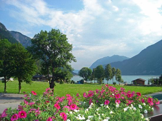 Rosenegger Hotel: Zimmeraussicht auf den Achensee