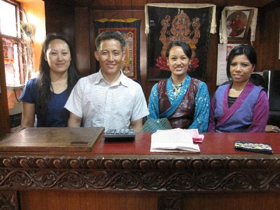 Hotel Ganesh Himal: Ganesh Himal family