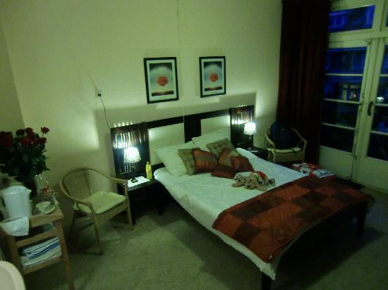 Elsa's Home: Unser Zimmer mit Balkon