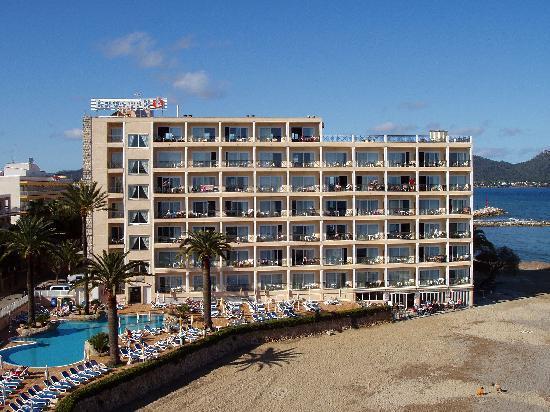 Gran Sol: View of superior rooms in Levante