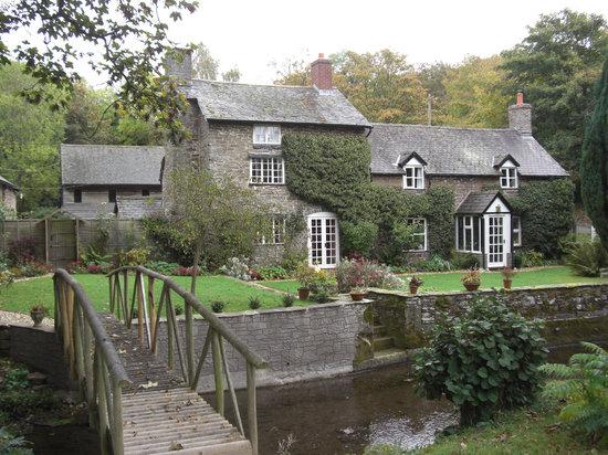 Birches Mill from the garden