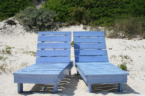 Romora Bay Resort & Marina: Romora Bay beach chairs