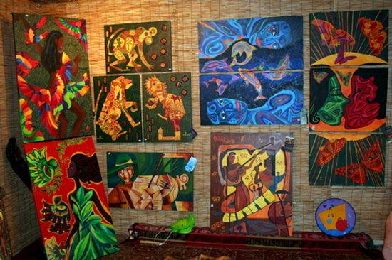 La Fortuna de San Carlos, Costa Rica: Paintings arteDK