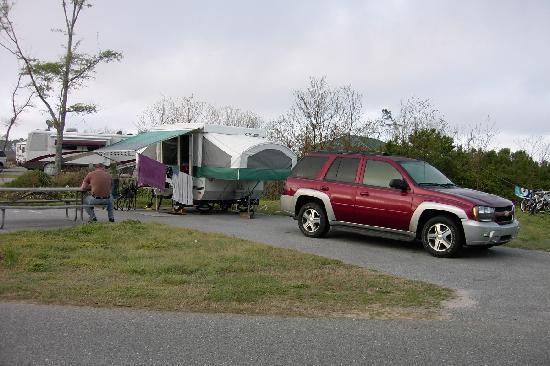 Gulf State Park Campground: Our Campsite #280