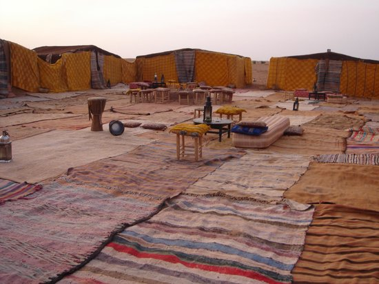 M'Hamid, Marrocos: Desert camp