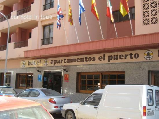 Poolside fotograf a de el puerto hotel apartments ibiza - Hotel apartamentos el puerto ibiza ...