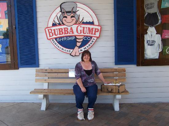ef386b0394dd In Forrest s Shoes - Picture of Bubba Gump Shrimp Co.