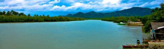 Surigao City, Filippinerna: Surigao River,Brgy Sabang