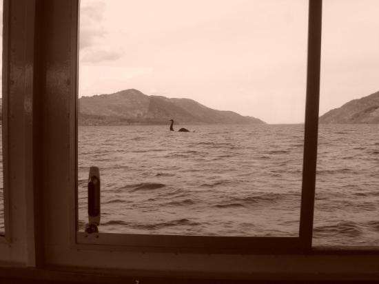 Fort William, UK : ...my very own Nessy Snapshot ;-)