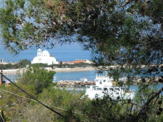 Angistri, Greece: Noch ein Blick von unserer Suite
