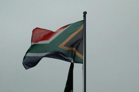 Camps Bay, South Africa: flag of South Africa