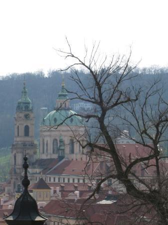 St. Nicholas' Kirke: St-Nicolas depuis le château