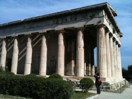 Temple of Hephaestus (Thiseio): Temple of Hephastos