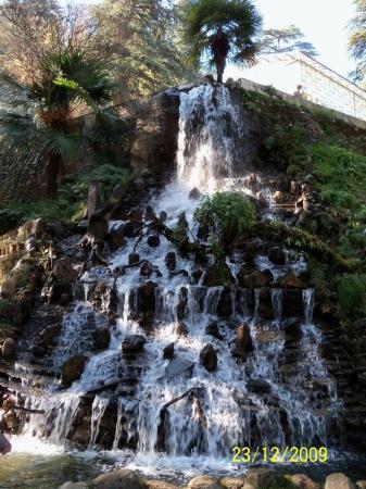 Waterfall in Company Garden