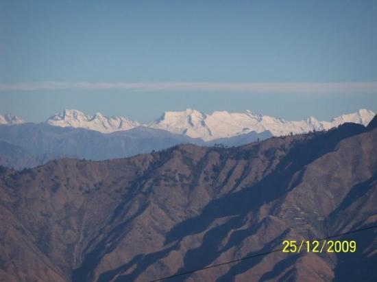 View from Camel Road, Mussoorie
