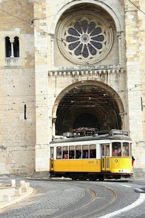 Sé de Lisboa ( Igreja de Santa Maria Maior ): Lisszabon - Sé katedrális