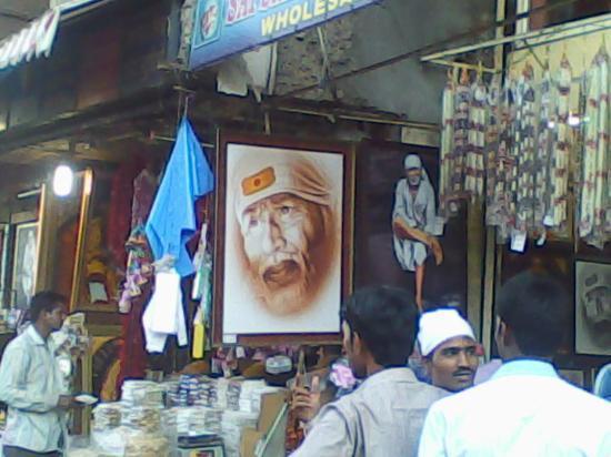 Shirdi, Indien: sabka malik 1 hai ....              -SAI BABA