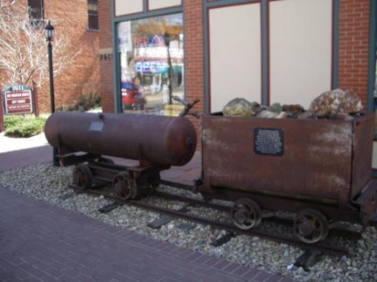 Old Colorado City Historic District: Old Colorado Springs -- coal wagon