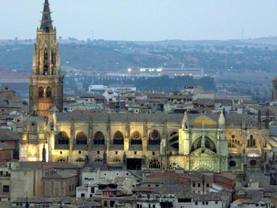 Parador de Toledo: view from rm