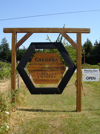Carbrea Winery: Carbrea sign