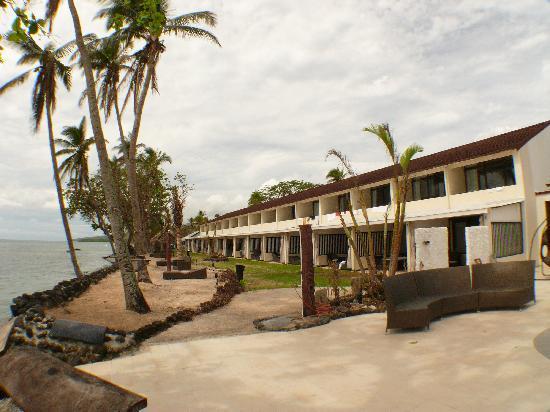 Taveuni, Fiyi: all the rooms have wonderful views