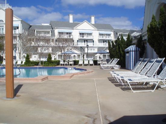 Disney's BoardWalk Inn: The quiet pool