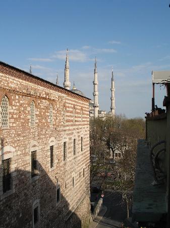 Ibrahim Pasha Hotel: View from Balcony
