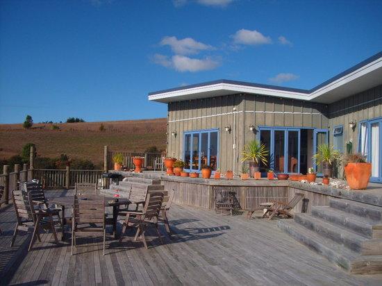 Puketiti Lodge: The Deck
