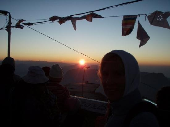 Bentota, Sri Lanka: Adams Peak at dawn, Sri Lanka