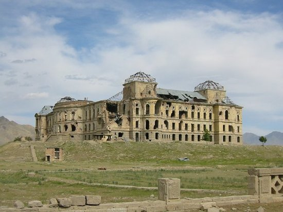 The haunting skeletons of war -- King's Palace in Kabul, destroyed in the Civil War of the early