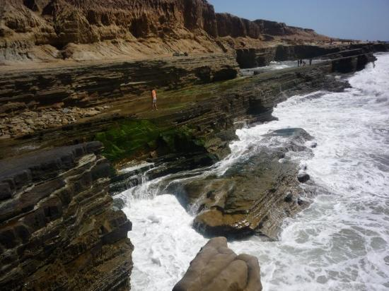 Tide pool area at Point Loma