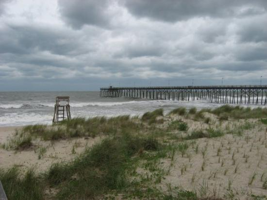 Wilmington, NC: The sea was a bit angry this day...but what an awesome picture
