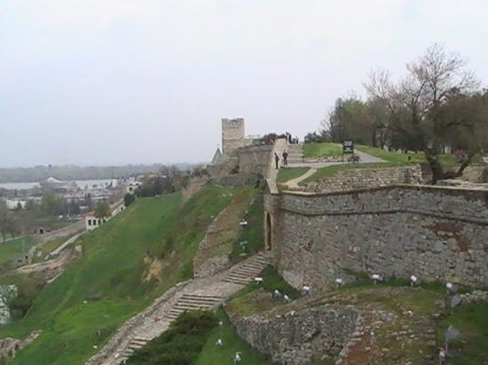 Vista De Los Muros Exteriores De La Fortaleza Picture Of Belgrade - Muros-exteriores
