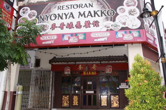 Nyonya Makko Restaurant
