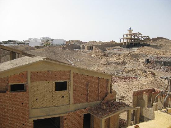 Jewels Sahara Boutique Resort: autre vue depuis notre chambre !